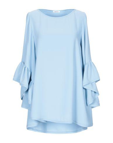 P.A.R.O.S.H. | Небесно-голубой Женская блузка P.A.R.O.S.H. креп | Clouty