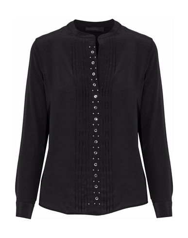 Belstaff | Черный Женская черная блузка BELSTAFF креп | Clouty