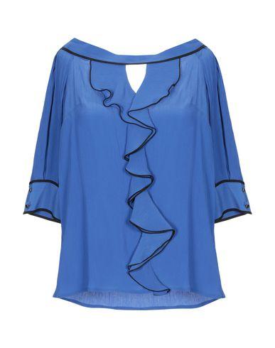Maria Grazia Severi | Синий Женская синяя блузка MARIA GRAZIA SEVERI креп | Clouty