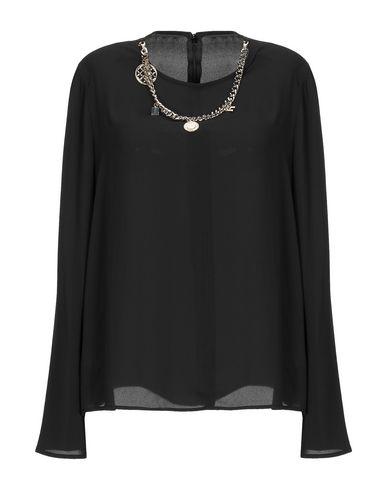 Elisabetta Franchi   Черный Женская черная блузка ELISABETTA FRANCHI креп   Clouty