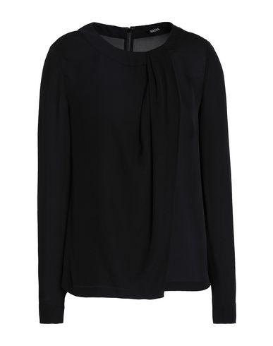Raoul | Черный Женская черная блузка RAOUL креп | Clouty