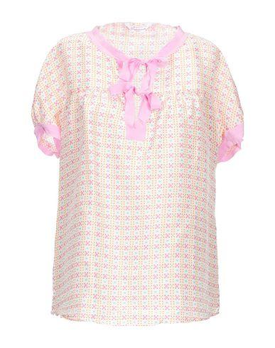 Guglielminotti   Розовый Женская розовая блузка GUGLIELMINOTTI атлас   Clouty