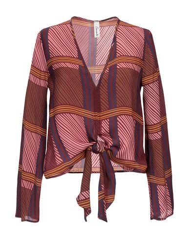 Souvenir   Пурпурный Женская пурпурная блузка SOUVENIR креп   Clouty