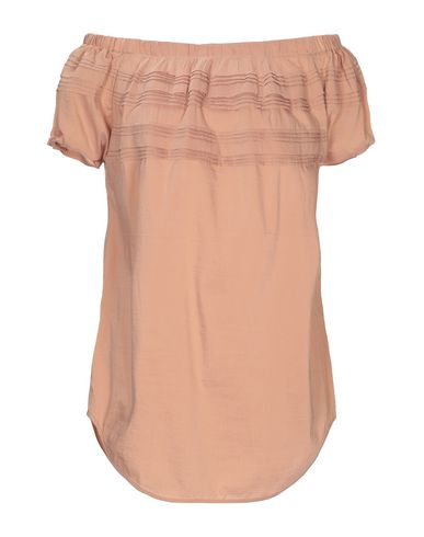 Manila Grace | Телесный Женская телесная блузка MANILA GRACE плотная ткань | Clouty