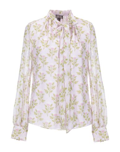 Giambattista Valli | Светло-розовый Женская светло-розовая блузка GIAMBATTISTA VALLI шифон | Clouty