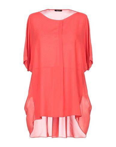 Hanita   Красный Женская красная блузка HANITA креп   Clouty