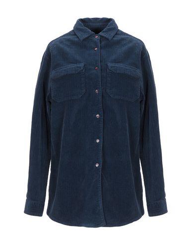..,Merci   Темно-синий Женская темно-синяя рубашка ..,MERCI бархат   Clouty