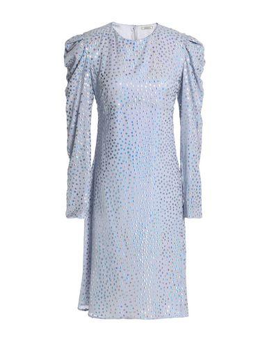 NINA RICCI | Сиреневый Сиреневое короткое платье NINA RICCI креп | Clouty