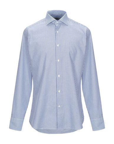 Caliban   Лазурный Мужская лазурная рубашка CALIBAN плотная ткань   Clouty