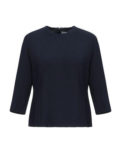 Anita Di. | Темно-синий Женская темно-синяя блузка ANITA DI. креп | Clouty
