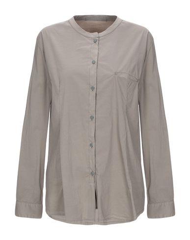 Transit Par-Such | Зеленый-милитари Женская рубашка TRANSIT PAR-SUCH поплин | Clouty
