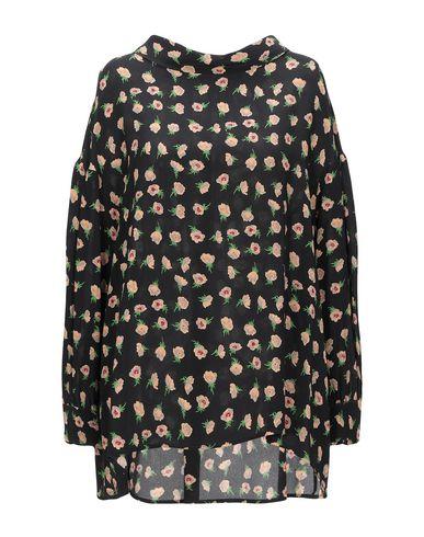 Liviana Conti | Черный Женская черная блузка LIVIANA CONTI креп | Clouty