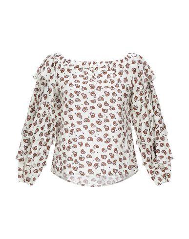 Dixie | Слоновая кость Женская блузка DIXIE плотная ткань | Clouty