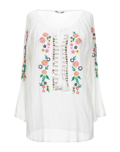 Dixie | Белый Женская белая блузка DIXIE газ | Clouty