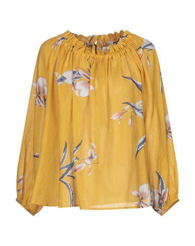 Attic And Barn | Охра Женская блузка ATTIC AND BARN плотная ткань | Clouty