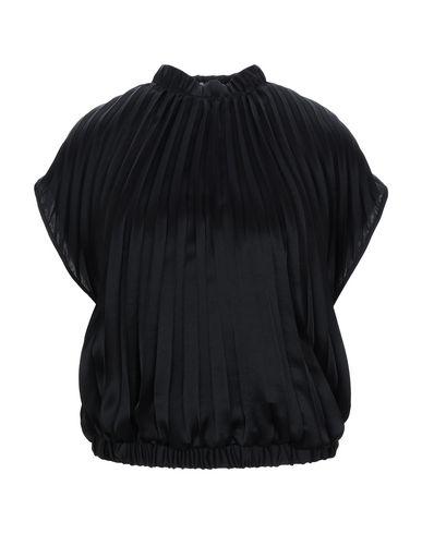 Dries Van Noten | Черный Женская черная блузка DRIES VAN NOTEN атлас | Clouty