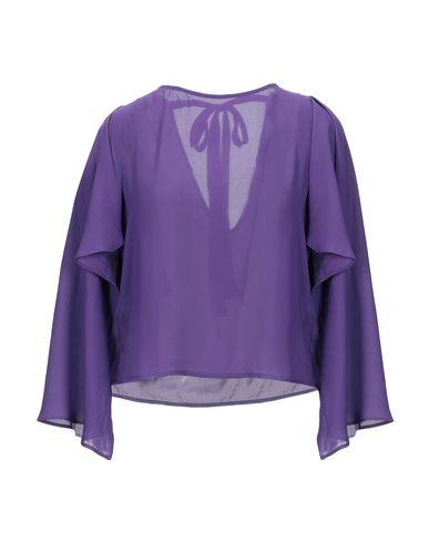 (A.S.A.P.) | Фиолетовый Женская фиолетовая блузка (A.S.A.P.) креп | Clouty
