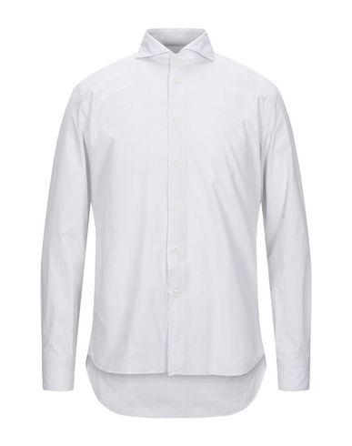 Fradi | Белый Мужская белая рубашка FRADI плотная ткань | Clouty