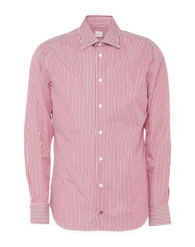 Càrrel | Красный Мужская красная рубашка CARREL плотная ткань | Clouty