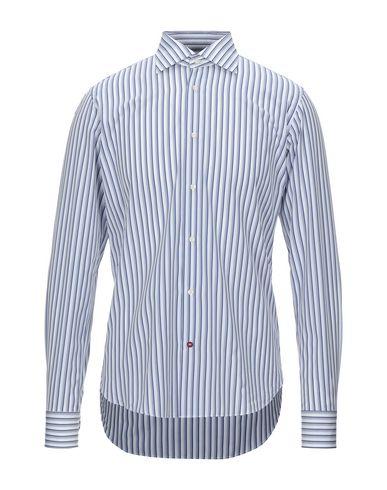 Càrrel | Белый Мужская белая рубашка CARREL плотная ткань | Clouty