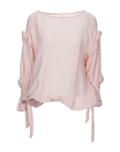 Empathie | Розовый Женская розовая блузка EMPATHIE креп | Clouty