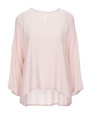 Empathie   Розовый Женская розовая блузка EMPATHIE креп   Clouty