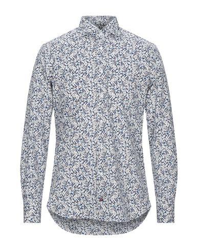 Càrrel | Цвет морской волны Мужская рубашка CARREL плотная ткань | Clouty