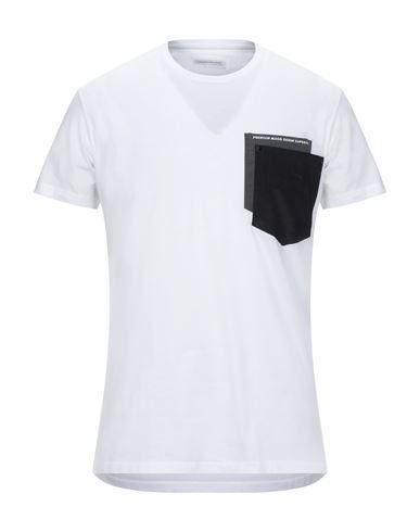 Pmds Premium Mood Denim Superior   Белый Мужская белая футболка PMDS PREMIUM MOOD DENIM SUPERIOR джерси   Clouty