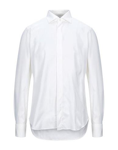 Càrrel | Слоновая кость Мужская рубашка CARREL плотная ткань | Clouty
