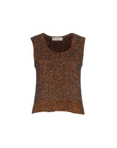 L'Autre Chose | Женский медный свитер L' AUTRE CHOSE вязаное изделие | Clouty