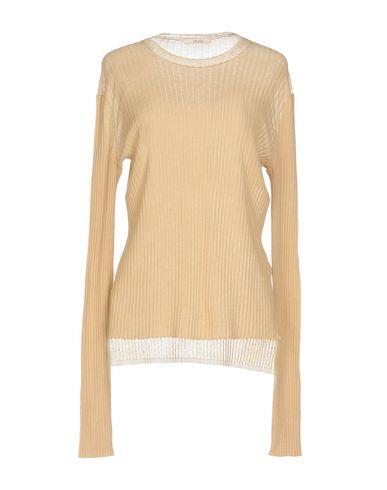 CELINE | Женский верблюжий свитер CELINE вязаное изделие | Clouty