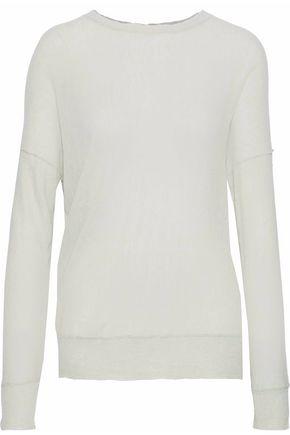 By Malene Birger   By Malene Birger Woman Slub Knitted Sweater Grey Green   Clouty