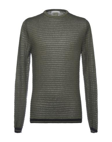 Grey Daniele Alessandrini | Зеленый-милитари Мужской свитер GREY DANIELE ALESSANDRINI Вязаное изделие | Clouty