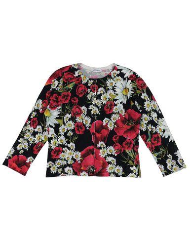 Dolce & Gabbana | Черный; Слоновая кость Детский черный кардиган DOLCE & GABBANA вязаное изделие | Clouty