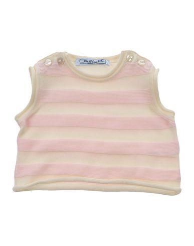 Mi Mi Sol | Детский светло-розовый свитер MIMISOL стирка при 30 °c | Clouty