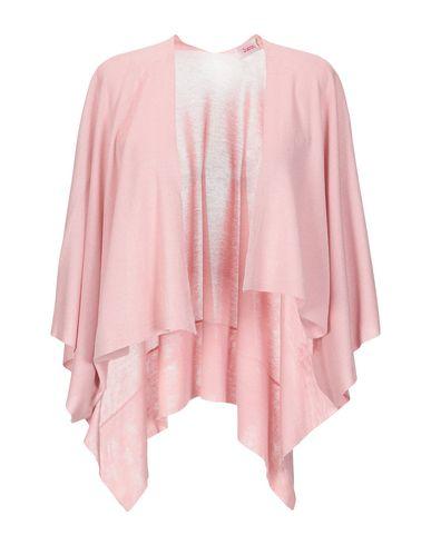 Jucca | Розовый; Черный Женский розовый кардиган JUCCA вязаное изделие | Clouty