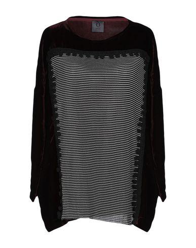 OBLO UNIQUE   Баклажанный Женская баклажанная блузка OBLO UNIQUE бархат   Clouty
