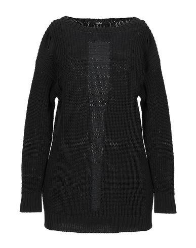 Carla G. | Черный; Белый Женский черный свитер CARLA G. вязаное изделие | Clouty