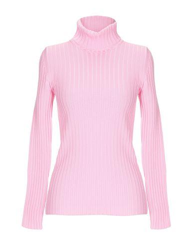 MOSCHINO | Розовый; Фуксия Женской розовой водолазки MOSCHINO вязаное изделие | Clouty