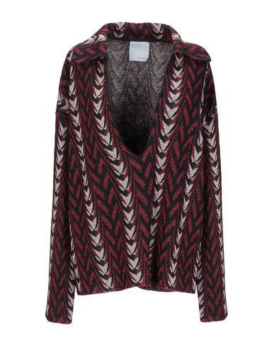 Floor   Красно-коричневый Женский свитер FLOOR вязаное изделие   Clouty