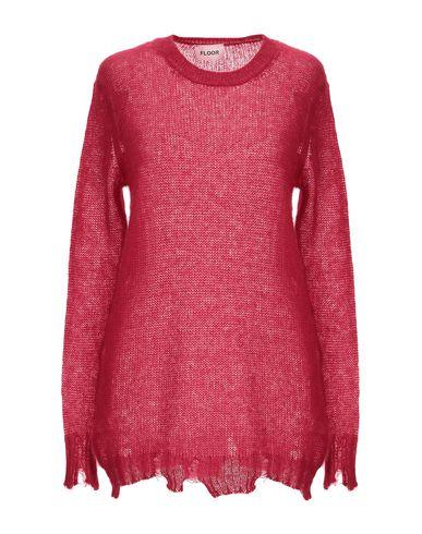 Floor | Женский красный свитер FLOOR вязаное изделие | Clouty