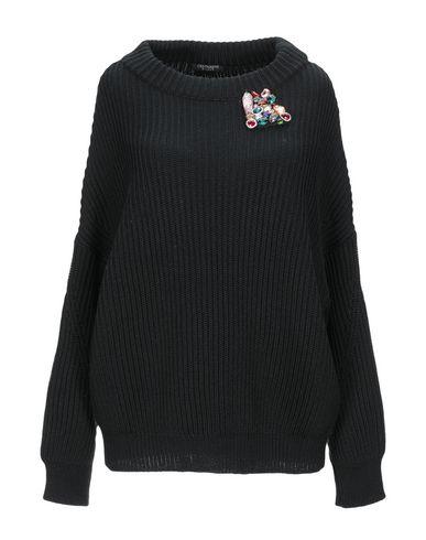 Cristina Effe | Черный; Верблюжий Женский черный свитер CRISTINAEFFE вязаное изделие | Clouty
