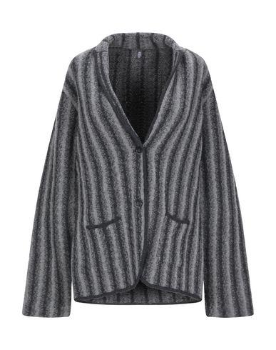 Eleventy | Светло-серый; Ржаво-коричневый Женский светло-серый пиджак ELEVENTY вязаное изделие | Clouty