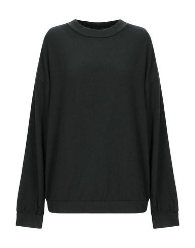 Labo.Art | Темно-зеленый; Стальной серый Женский темно-зеленый свитер LABO.ART вязаное изделие | Clouty