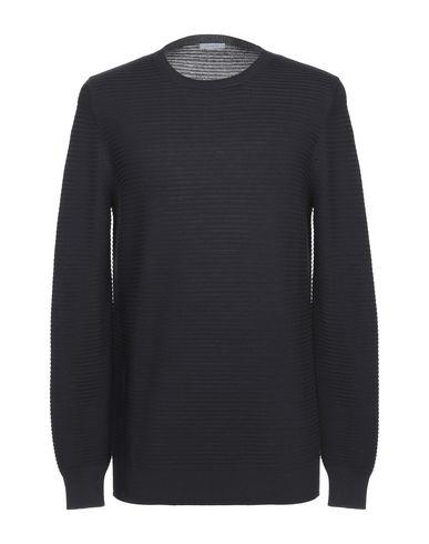 Malo | Темно-синий; Черный; Белый; Красный Мужской темно-синий свитер MALO вязаное изделие | Clouty