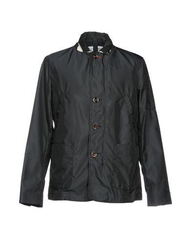 Geospirit | Темно-синий; Серый Мужская темно-синяя куртка GEOSPIRIT техническая ткань | Clouty