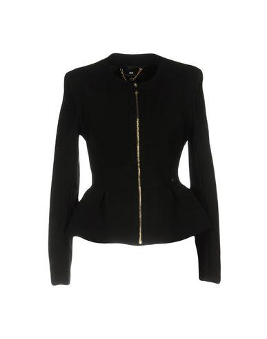 Elisabetta Franchi | Женский черный пиджак ELISABETTA FRANCHI джерси | Clouty