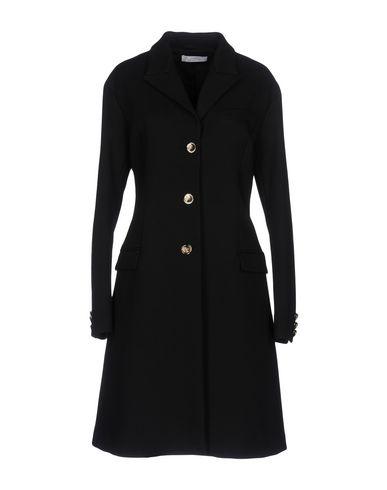 Versace | Черный Женское черное пальто VERSACE COLLECTION плотная ткань | Clouty