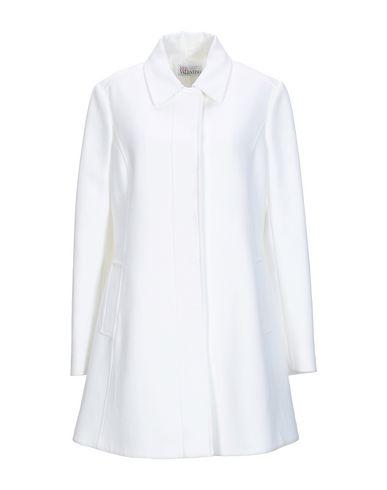 VALENTINO RED | Белый Женское белое легкое пальто REDValentino плотная ткань | Clouty