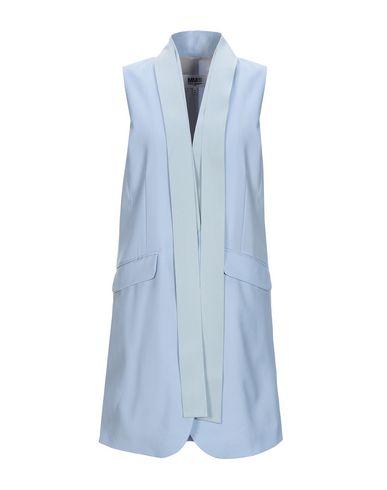 MM6 Maison Margiela | Небесно-голубой; Песочный Женское легкое пальто MM6 MAISON MARGIELA Шерстяной муслин | Clouty